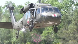 2014 California National Guard and Cal Fire Joint training exercise Footage