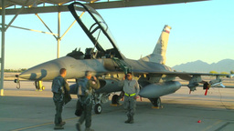 F-16D Fighting Falcon Pilots Training at Coronet Cactus 2014 Footage