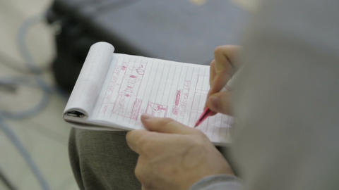Change Focus from Soft to Clear on Manager Writes in Notebook Footage