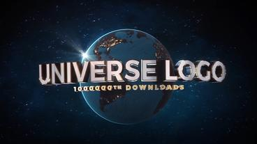 Universe Logo - Element 3D V2 After Effects Template