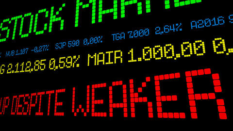Dollar up despite weaker oil prices Footage