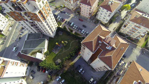 Residential housing community. Aerial 画像