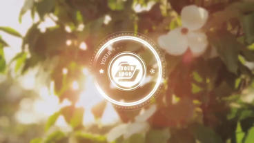Glowing Circles Title - Apple Motion and Final Cut Pro X Template Apple Motionテンプレート