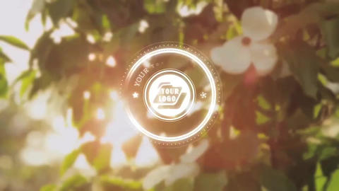 Glowing Circles Title - Apple Motion and Final Cut Pro X Template Plantilla de Apple Motion
