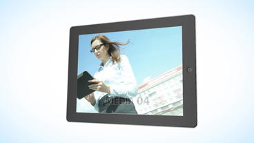 Tablet Presentation - Apple Motion and Final Cut Pro X Template Apple Motion-Vorlage
