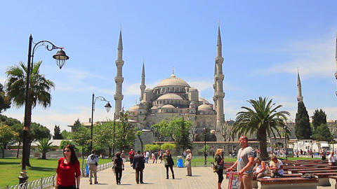 Blue Mosque. High definition, zoom out 画像