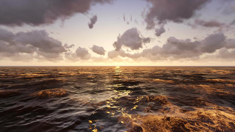 Ocean Sunrise Animation