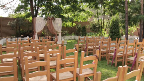 Wedding Ceremony Decorations 3 in 1 Footage