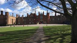 Hampton Court Palace UK Time lapse 圖片