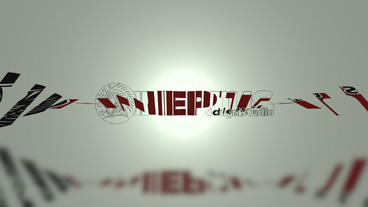 Simple clean logo Plantilla de Apple Motion