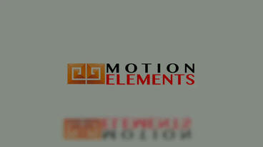 Simple clean logo Apple Motion Template