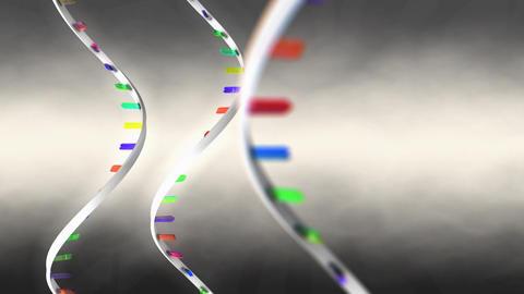3d rendering messenger RNA model Animation