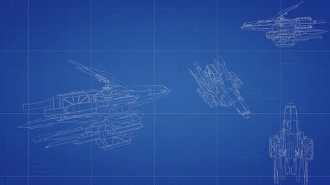 Tablet pc blueprint stock animation 1703460 spaceship blueprint animation animation malvernweather Gallery
