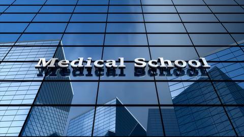 Medical school building Animation
