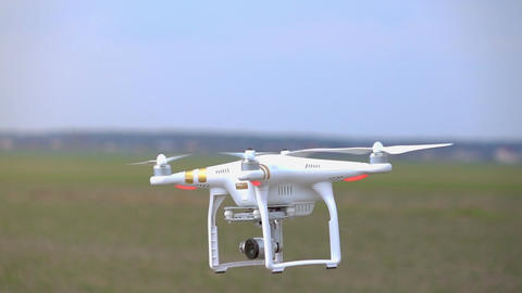 Video of drone in real slow motion Footage