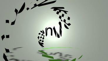 Fast simple logo Plantilla de Apple Motion