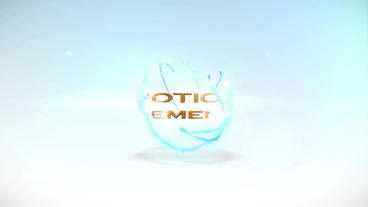 Water Ball logo After Effects Projekt
