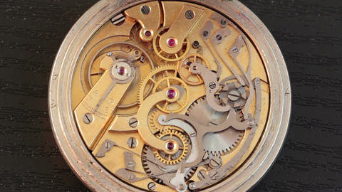 Pocket Watch Movement Chronometer 6 Footage