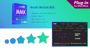 Morph Motion Kit - MMK After Effectsテンプレート