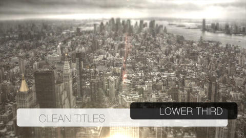 News lower third 10 After Effects Template