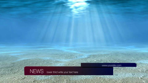 News lower third 3 After Effects Template