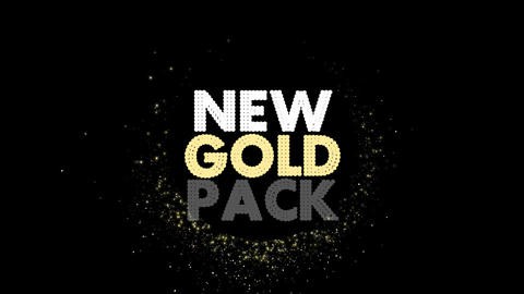 New Gold Pack After Effects Template