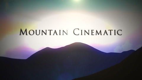 Mountain Cinematic Trailer After Effects Template