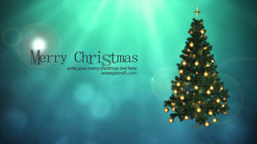 Merry Christmas After Effects Project