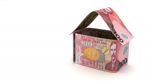 Stack of New Zealand Dollars Animation