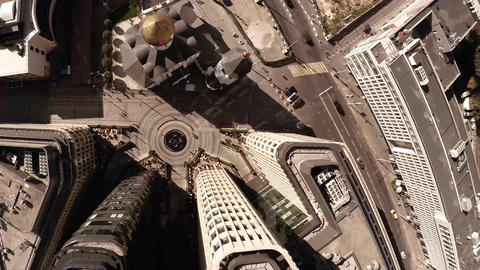 Aerial of Old Believers' Church in the Name of St. Nicholas. Highly photogenic c Footage