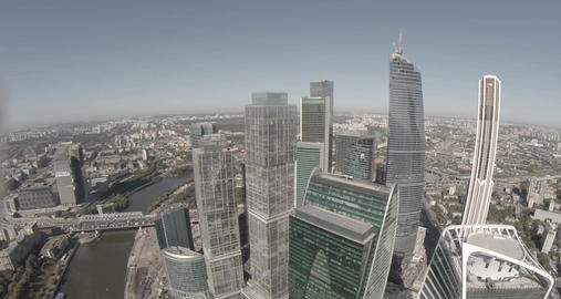 Moscow International Business Center referred to as Moscow City GIF 動畫
