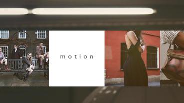 Portfolio Presentation Apple Motion-Vorlage