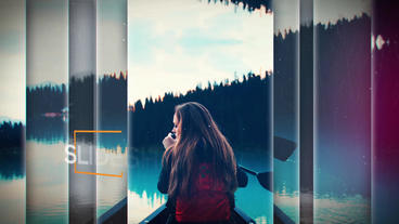 Cinematic Slideshow After Effects Template