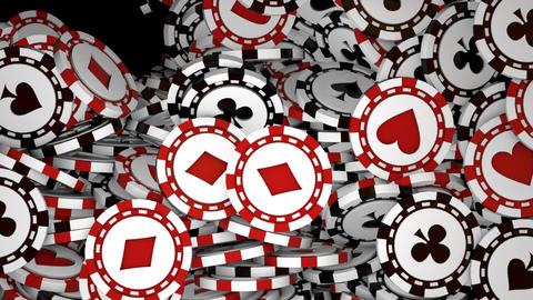 The Poker Chips Transition Animation
