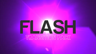 Flash Light Transition After Effects Templates