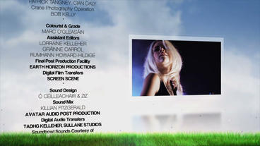 Film Credits After Effects Project