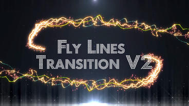 Fly Lines Transition V2 (5 pack) After Effects Templates
