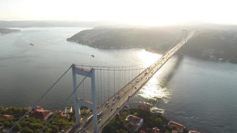 Amazing istanbul Bosphorus and Bridge Footage Footage