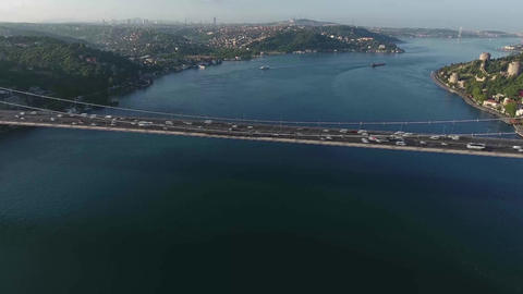 Bosphorus Bridge Crossing, Turkey Footage