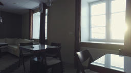 Steadicam. Modern Office Interior. Smooth motion. Business center Footage