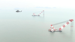 Sewol Ferry search and rescue, UH-1Y Huey Footage