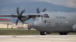 U.S. Air Force C-130J Super Hercules operations Footage