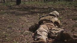 MRF-D Marines Send Rounds Down Range Footage