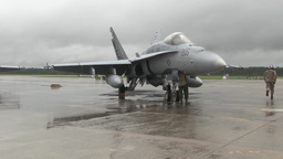 F/A-18 Hornet Marine Fighter Attack Squadron Daily Operations Footage