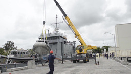 USAV New Orleans delivers small boats to Tradewinds Footage