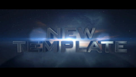 Space Trailer (Unlimited) After Effects Template