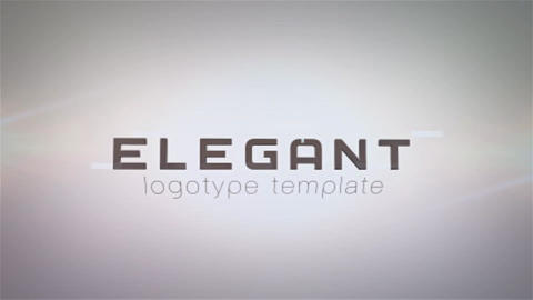 Elegant Logo After Effects Template