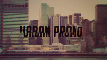 Grunge Urban Opener After Effects Projekt