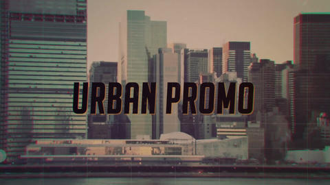 Grunge Urban Opener After Effects Template