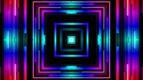 Color Geometry Loop Animation